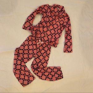 JUICY COUTURE 2-Piece Pink Pajamas Size 6